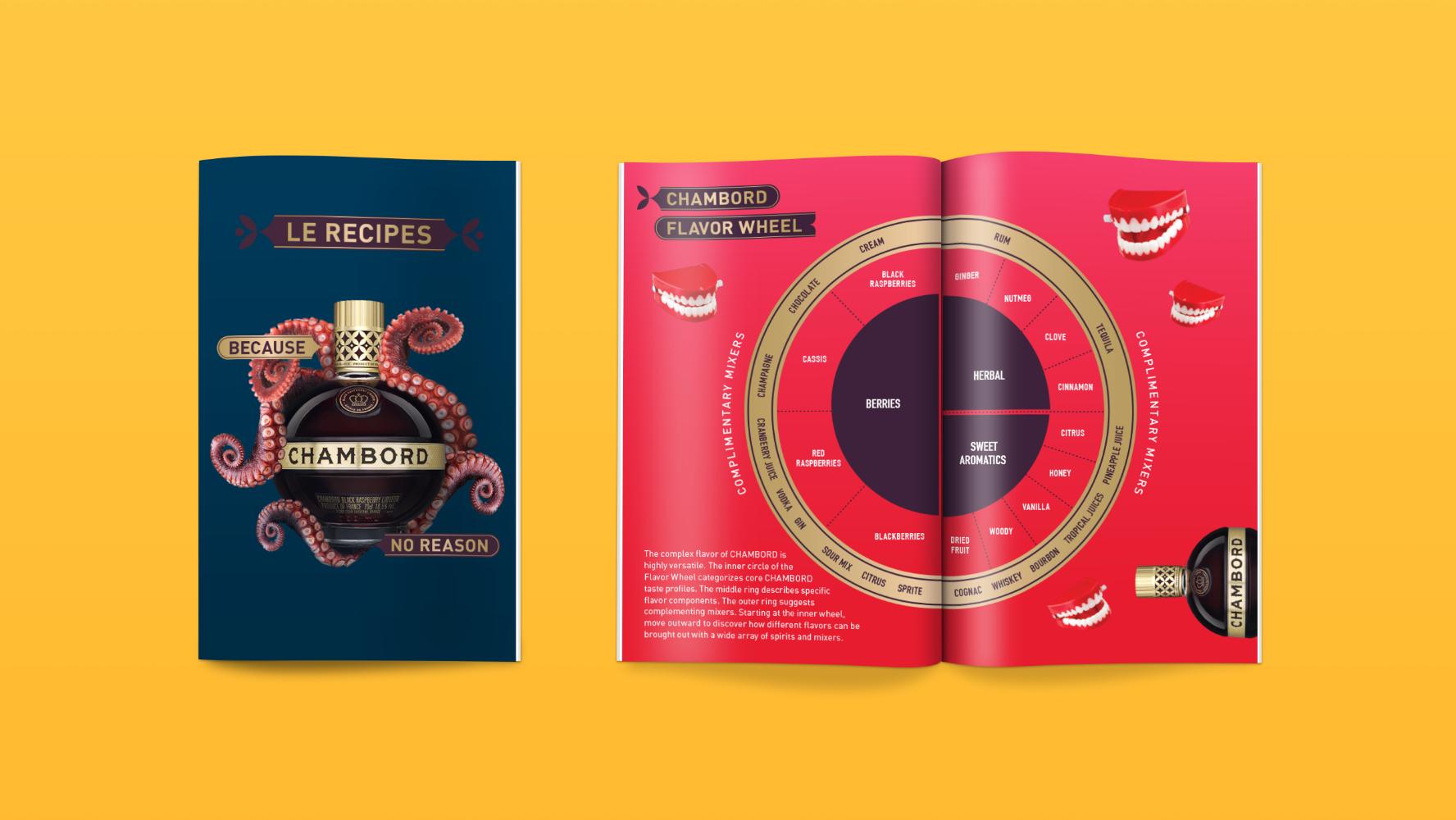 Chambord Recipe Book