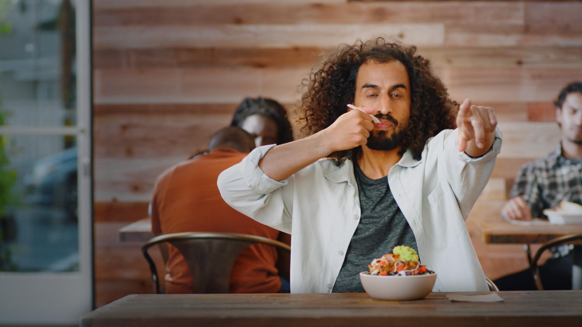 Qdoba Burrito Bowl Brand Campaign