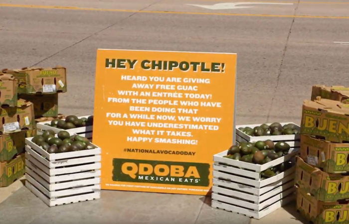 Hey Chipotle! Press Advertising