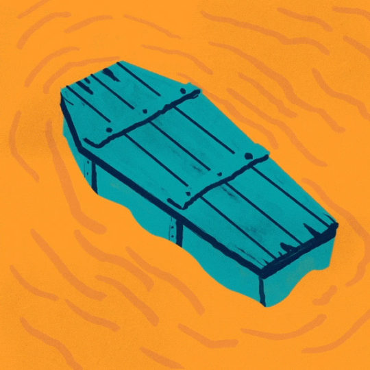 Queso Coffin