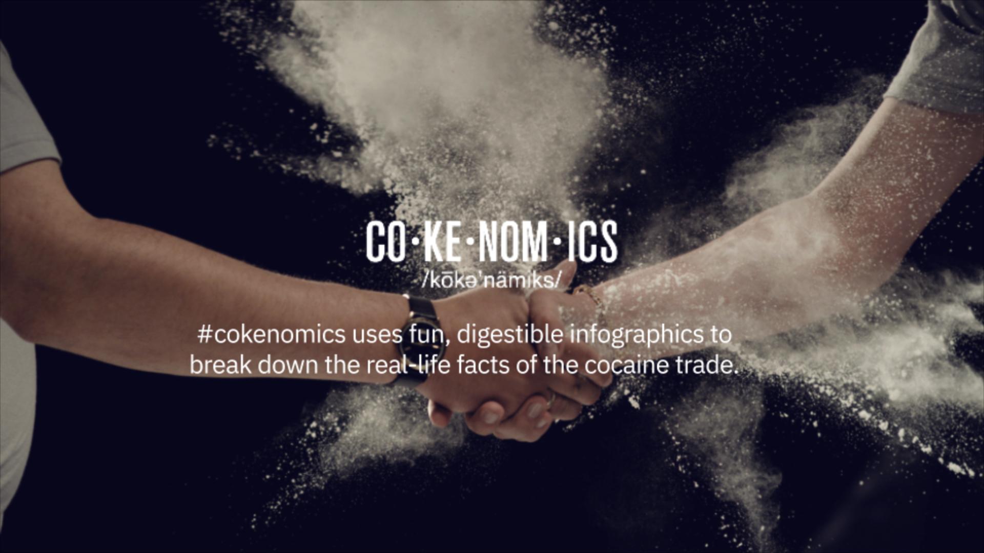 narcos cokenomics poster