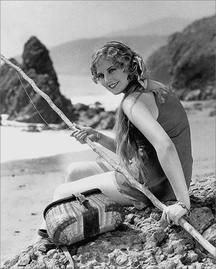 Thelma Todd Malibu Beach Pic